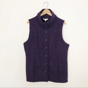 Northern Reflections Button Front Vest Size XL